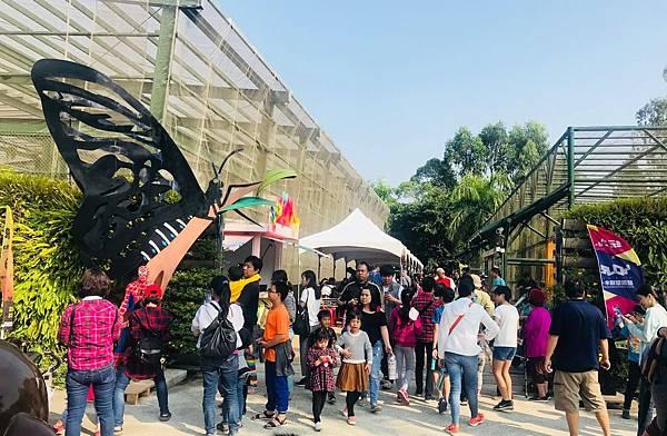 高雄展覽活動2019推薦:高雄市金獅湖蝴蝶園9/1起免費入園