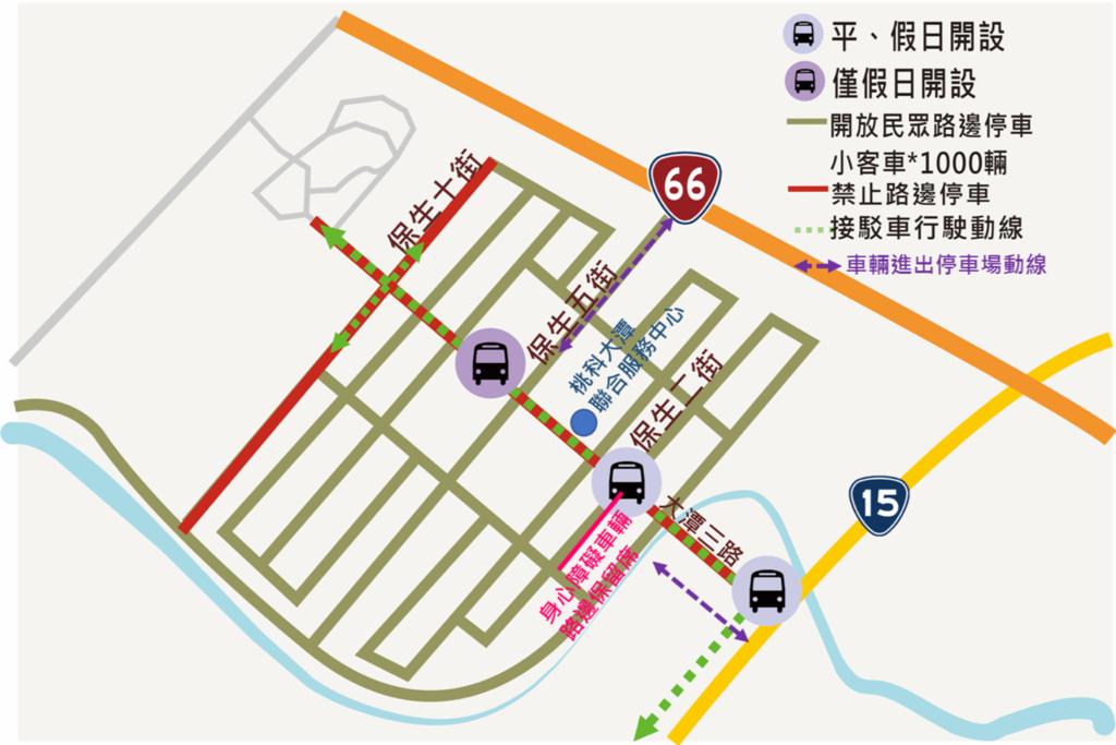 2019桃園農業博覽會 P2大潭停車場