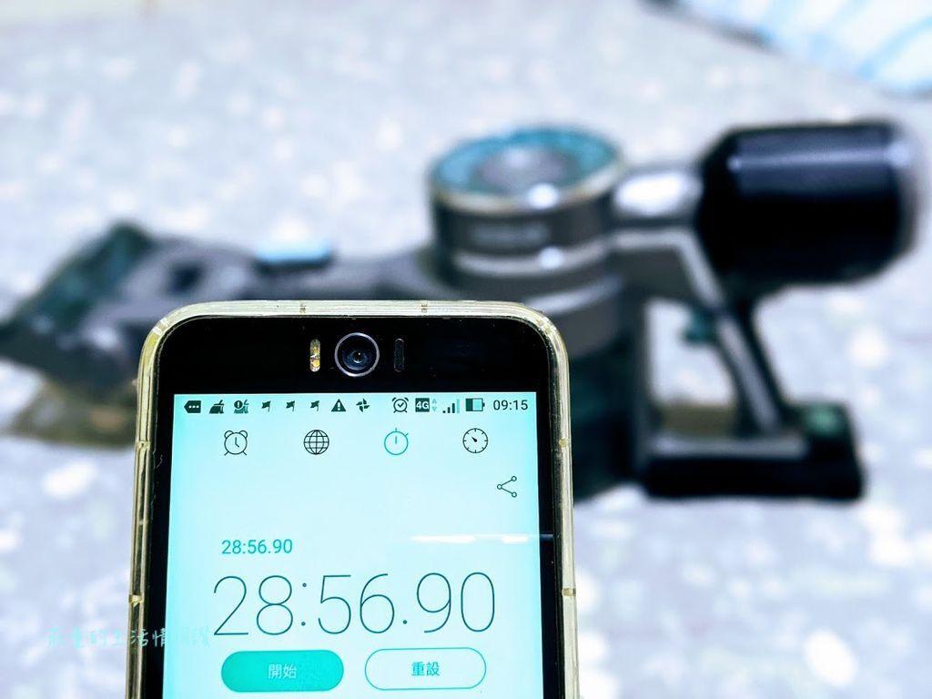 HVC-23E6電池 一般吸力模式實測超過28分鐘