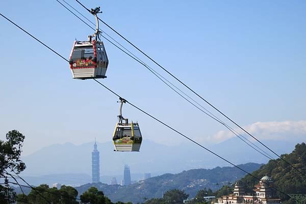台北私房景點 貓空纜車