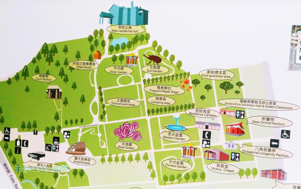 士林官邸 導覽地圖/位置圖