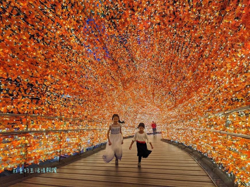 新北市耶誕城2020 新站路天橋「香榭光廊」