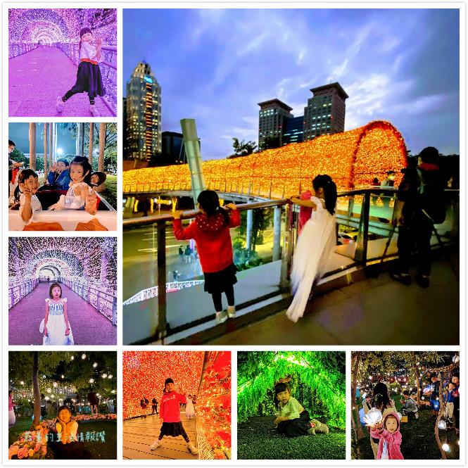 板橋新北耶誕城2020照片集