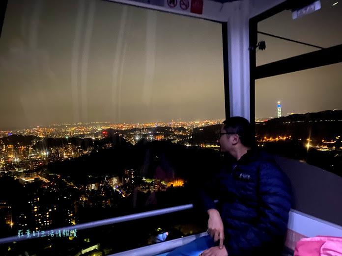 台北貓空纜車 夜景