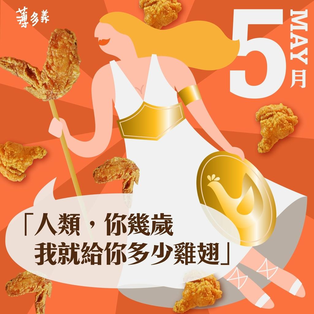生日優惠2020~薄多義義式手工披薩「當日」壽星,幾歲送幾支雞翅!