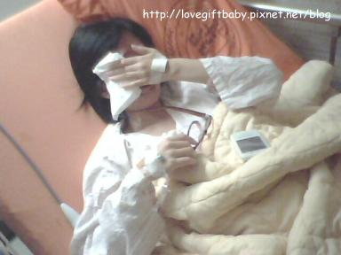 2011.01.07醫生宣佈抽血結果後哭了