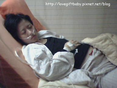 2011.01.04抽完腹水終於可以好好睡一覺