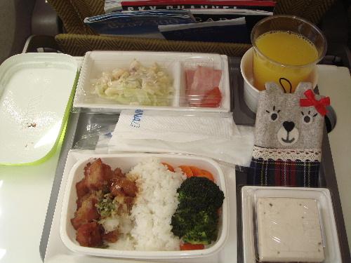 我的好吃飛機餐