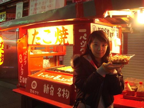 章魚燒一盒8個 日幣500