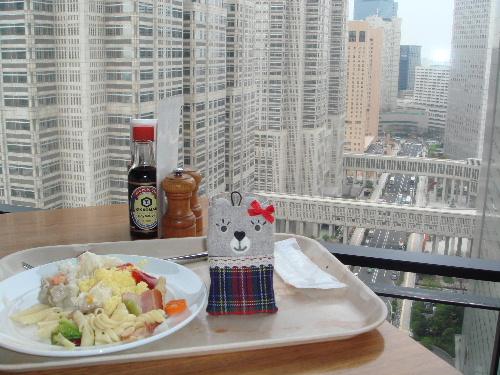 早餐在25樓