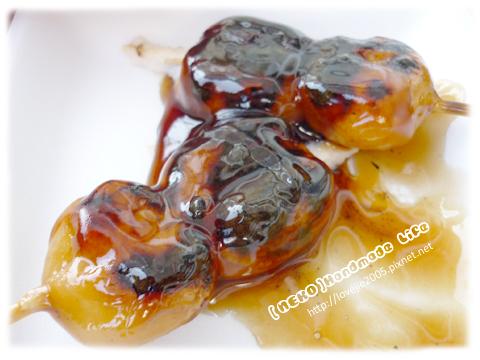 醬油烤丸子 超好吃!!^^b