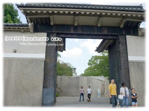 大阪城的第一道門