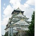 大阪城...這個角度最美!!