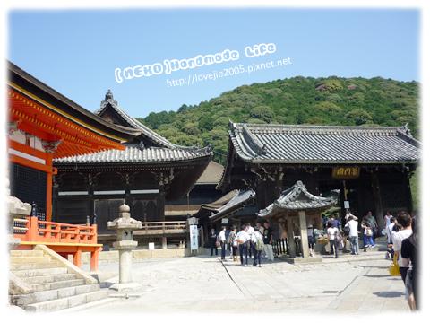 這裡才是要進清水寺主要的大門
