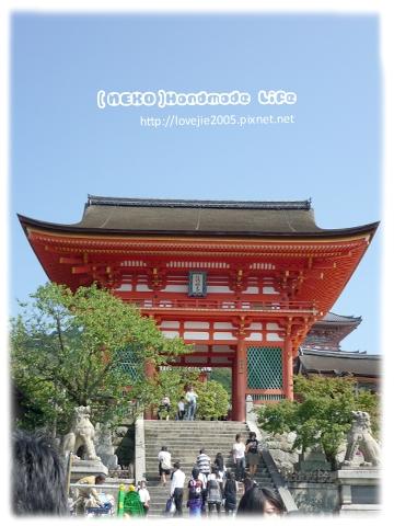 清水寺最外邊的大門