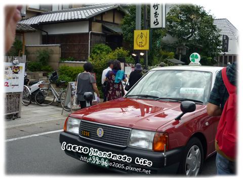 日本計程車各色都有