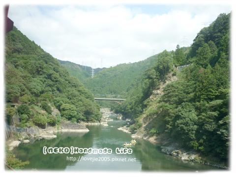 保津川很美