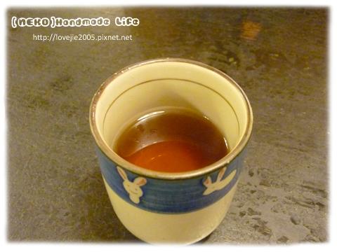 很回甘的熱茶...開胃暖胃...很nice吶!!