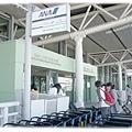 到了機場了...