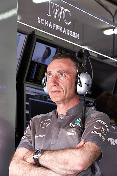 Bob Bell, Technical Director, MERCEDES AMG PETRONAS Formula One Team