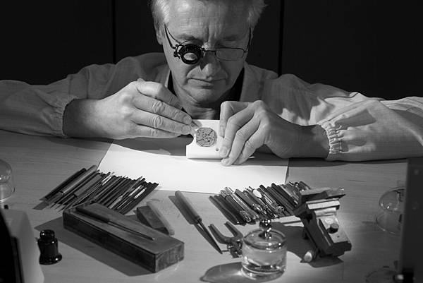Watchmaker working on RD540.jpg