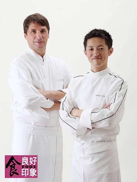 Chef Gilles Tournadre Chef Hideki Takayama