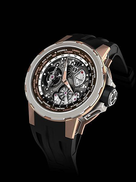RM58-01 Worldtimer jean todt limited edition