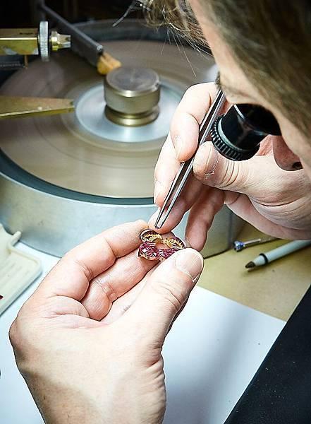 Pavot flower in Mystery Set rubies 1_534604
