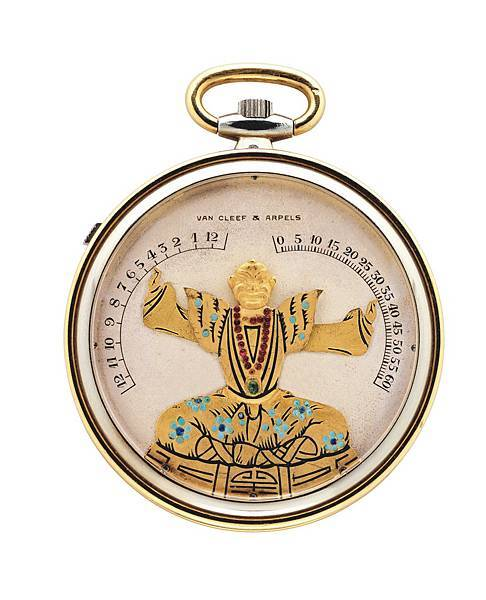 Chinese Magician pocket watch 1927 bras lev_534567