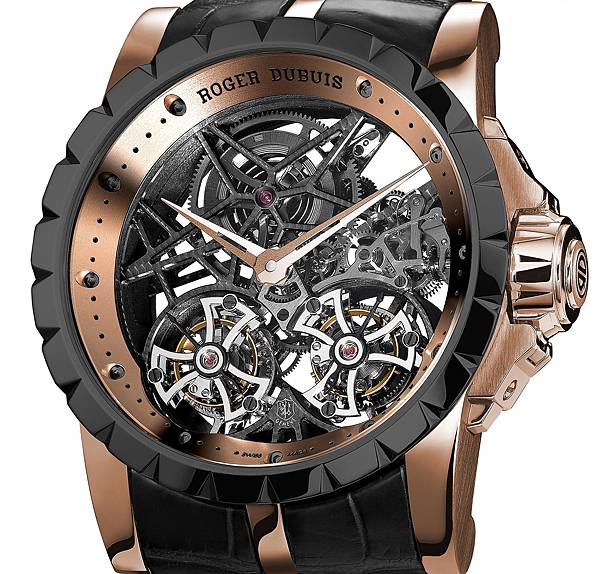 Excalibur Double Skeleton Tourbillon - Limited Edition