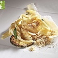 Heart of palm fettuccine with butter and sage and popcorn powder .jpg