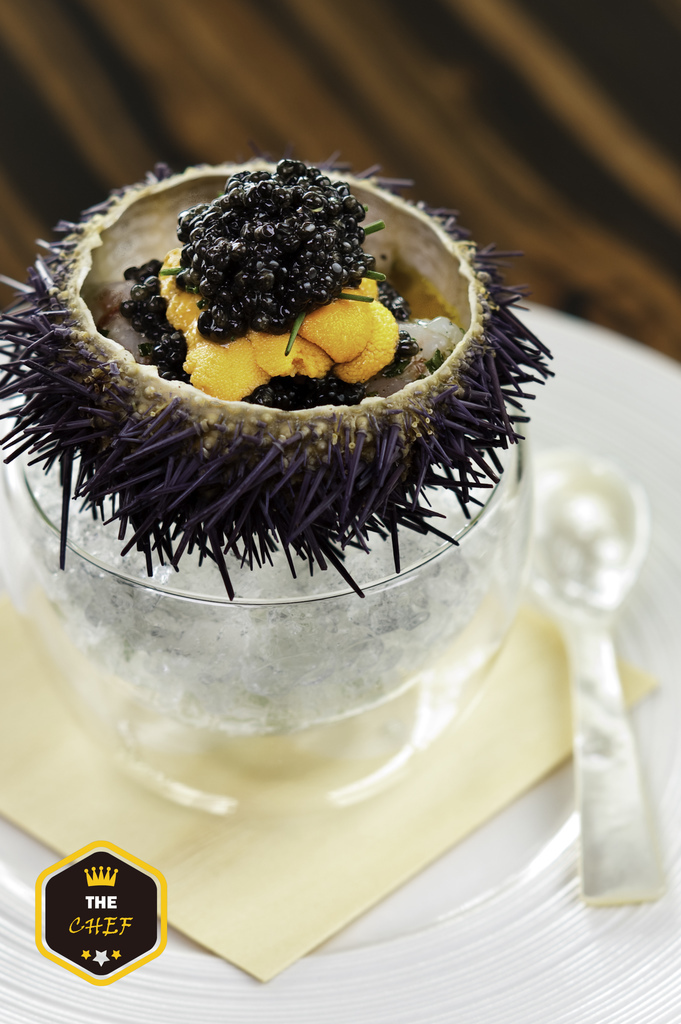 Marinated Botan Shrimp with Sea Urchin and Caviar_a.jpg