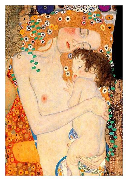 Klimt - Mother & Baby