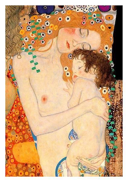 Klimt - Mother & Baby