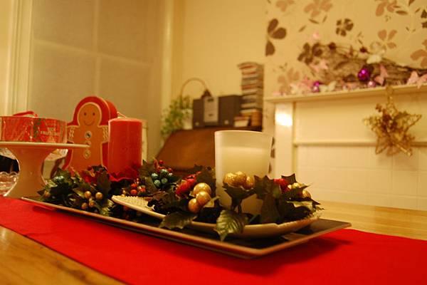 倫敦溫馨民宿聖誕節