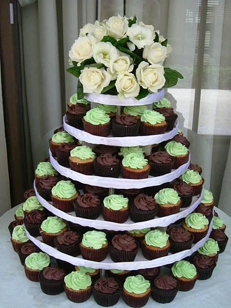 杯子蛋糕塔01