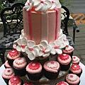 杯子蛋糕塔06