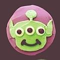 三眼怪造型杯子蛋糕