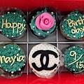 客製化6入盒杯子蛋糕