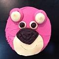 熊抱哥杯子蛋糕