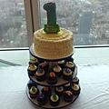 杯子蛋糕塔10