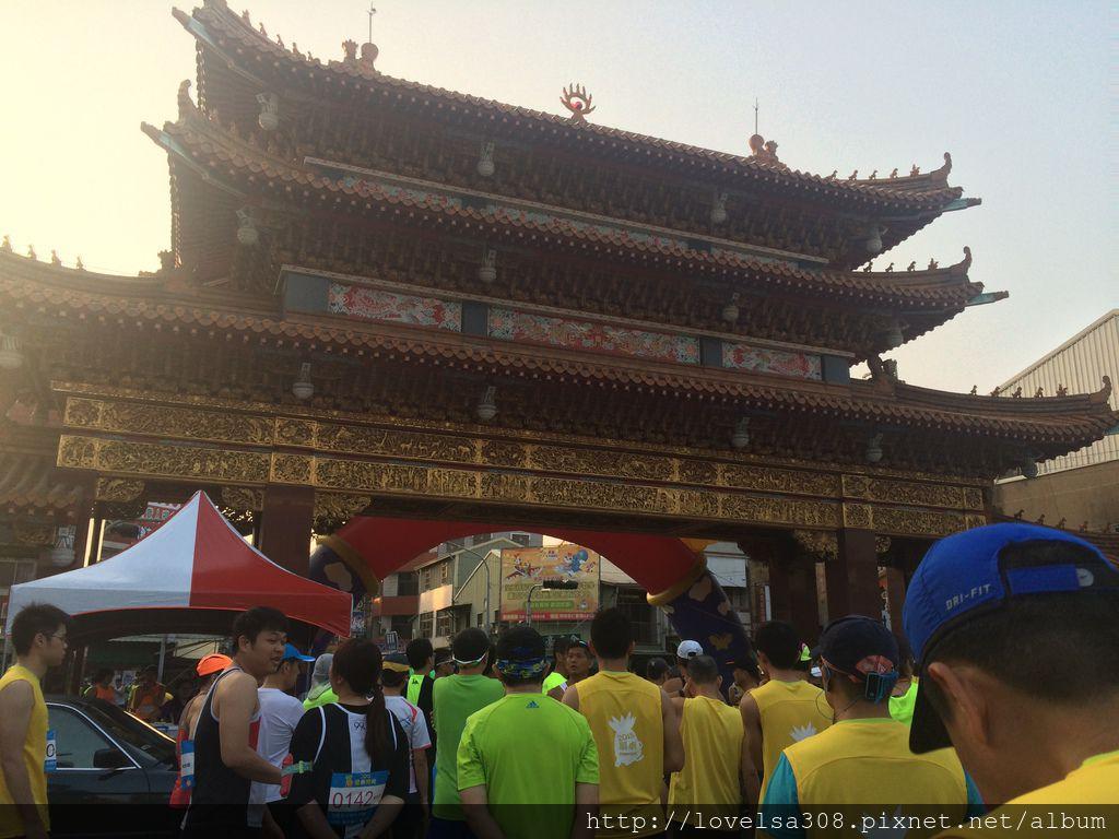 May 10, 2015 第一屆關廟路跑-準備起跑