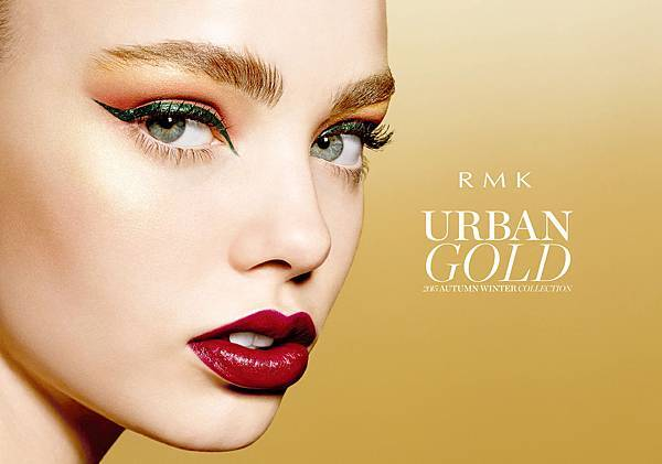 RMK 2015 Urban Gold AW Collection 主視覺