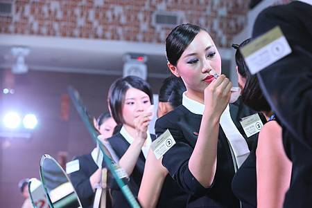 2015資生堂集團美容技術競賽總決賽-選手比賽02
