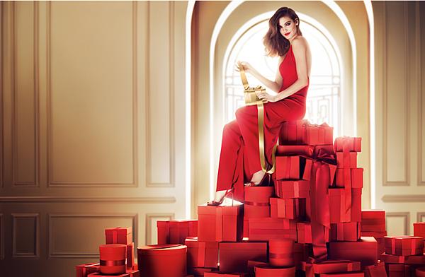 蘭蔻2015限量聖誕彩妝-流金盛宴 主視覺