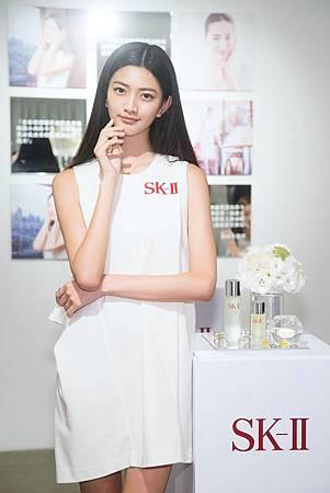 SK-II青春修護精萃油上市發表會_國際超模吳宜樺,分享美肌保養秘訣就靠SK-II青春修護精萃油