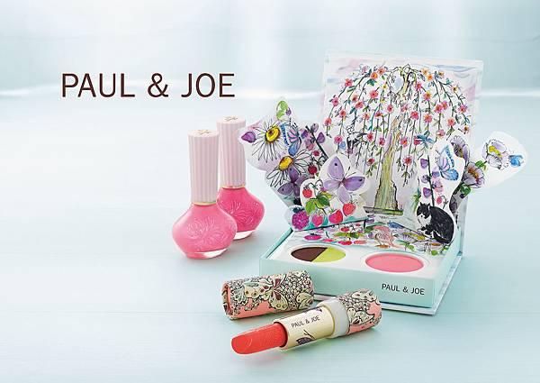 【主視覺】PAUL & JOE2016春季彩妝系列-春蝶翩舞_橫(2016.01.01上市)