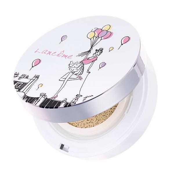 LANCOME激光煥白氣墊粉餅 — 粉彩幻想曲限定版粉盒 NT$1600(盒加蕊)