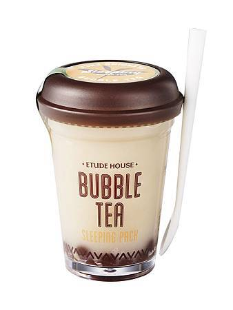 ETUDE HOUSE 珍珠奶茶晚安凍膜(紅茶緊實)