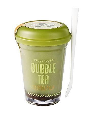 ETUDE HOUSE 珍珠奶茶晚安凍膜(綠茶控油)
